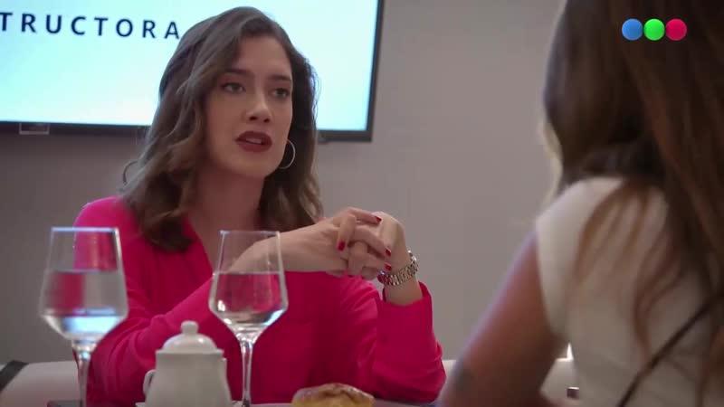 Campanas en la noche Lu renounces her company part in favour of Flor capítulo 67