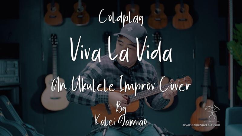 4K Coldplay Viva La Vida Cover by Kalei Gamiao on the Hawaiian Dream Series Ukulele