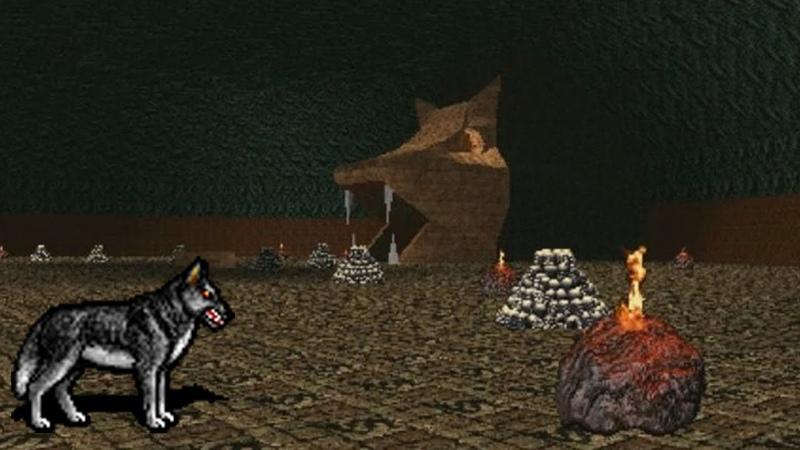 Might Magic VI 36 Волчье логово
