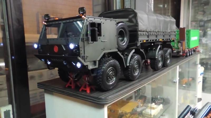 Модель TATRA T815. В мужчине всегда уживается любовь к игрушкам: взрослым и детским.