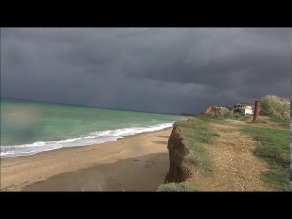 пляж Любимовка 11 октября