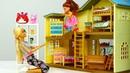 Штеффи и Челси - НОЧЬ в магазине игрушек! Куклы Барби мультики для девочек