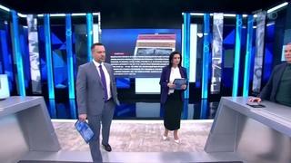 """Екатерина Стриженова упала в эфире """"Время покажет"""""""