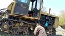 Ремонт смазка трактора ДТ 75. Казахстан.