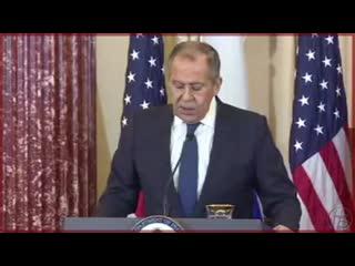 Лавров об обвинениях России во вмешательства в дела США