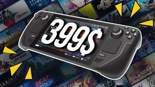 Гейб представил миру ПОРТАТИВНЫЙ ПК! Steam Deck - Портативный конкурент Nintendo Switch
