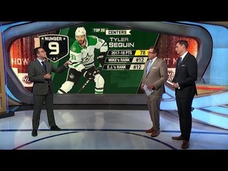 Tyler Seguin:  lands at No. 9 on the list   Aug 5,  2018