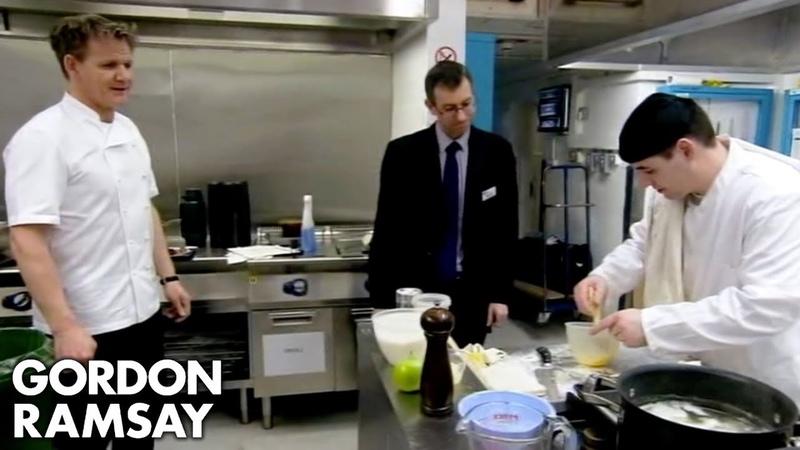 Gordon's Prison Brigade Prepares To Cook For Influential Foodies Gordon Behind Bars