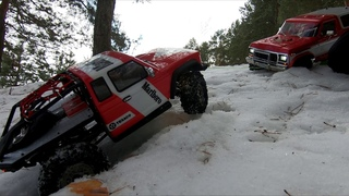 RC Moscow Scale Garage Winter ride