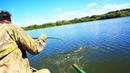 ЭТА ХИТРОСТЬ ПОМОЖЕТ ПОЙМАТЬ ЩУКУ! Рыбалка на спиннинг летом с Дашей! Рыбалка в Рязанской области