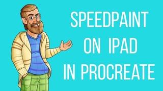 SPEEDPAINT ON IPAD IN PROCREATE