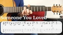 Learn to Play Someone You Loved Lewis Capaldi Fingerstyle Guitar Tutorial