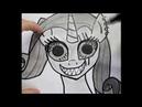 Как нарисовать пони. Крипи арт