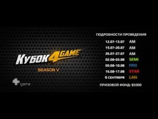 XRAGN vs YNWA [AM1, 1/2, 2 map] Кубок 4GAME @mid