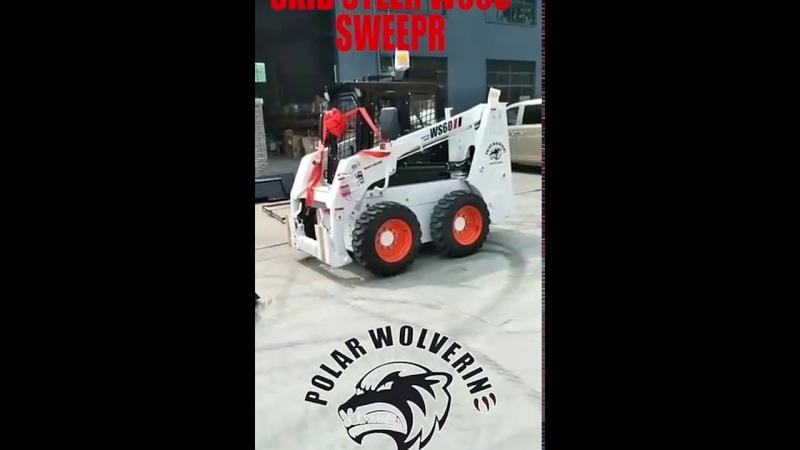 20200515polar wolverine skid steer ws60 ws85 ws100 ws65 shipment, minicargadoras made in China