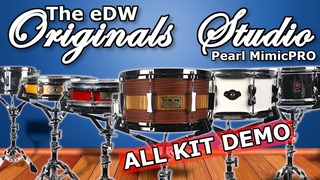 Pearl Mimic Pro   The eDW Originals Studio Custom Kits based on Real Acoustic Drums   All kits demo