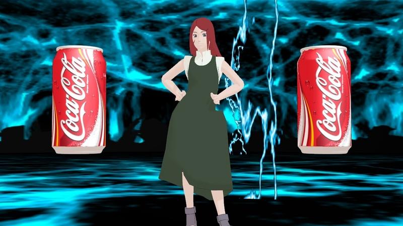 MMD Naruto Cola song meme
