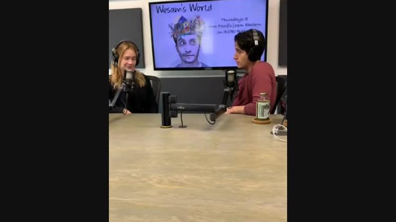 Britt was live with Wesam 2