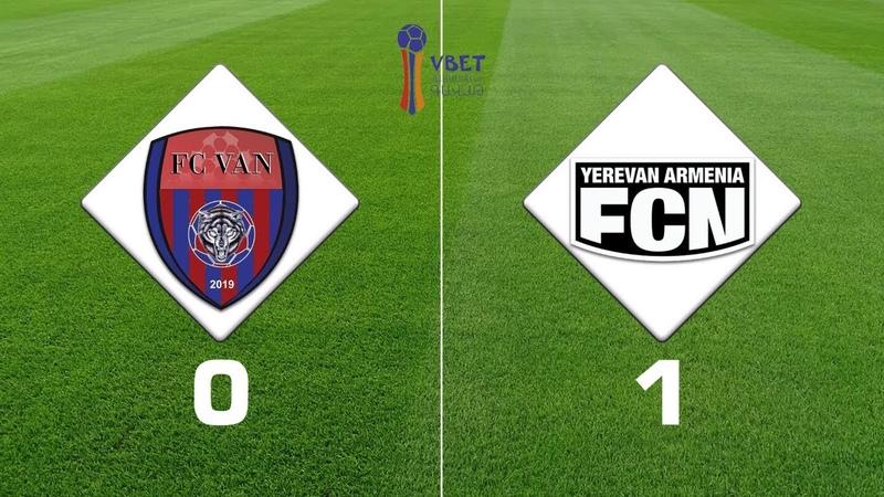 Van Noah 0 1 Vbet Armenian Cup 2019 20