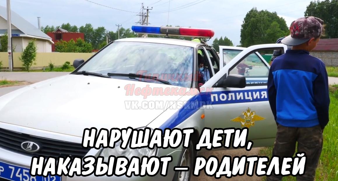 Задержание несовершеннолетнего водителя скутера произошло на улице Зодчих.