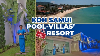 Samui pool-villa resort for sale – unique hospitality investment opportunity