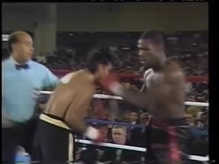 Roberto Duran vs Iran Barkley  - WBC World Middleweight Championship