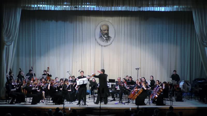 Вебер Концерт для фагота с оркестром Фа мажор I часть
