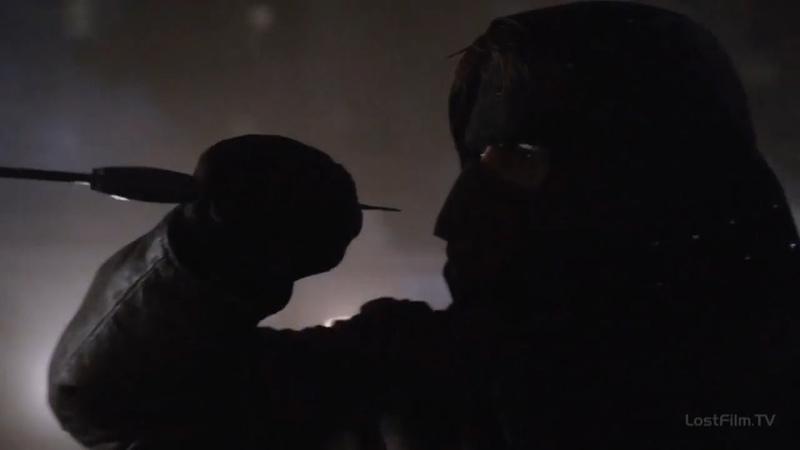 Стрела против Малкольма Мэрлина полный бой Стрела 1 сезон