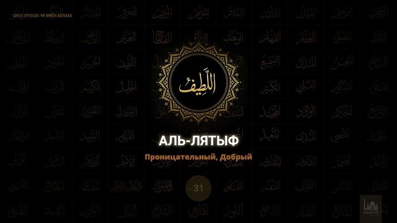 31 Аль Лятыф Проницательный Добрый 99 имён Аллаха