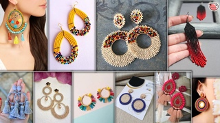 10 New Fashion Earrings Ideas | Suitable on Western & Traditional Kurti, Gown Dresses & Saree
