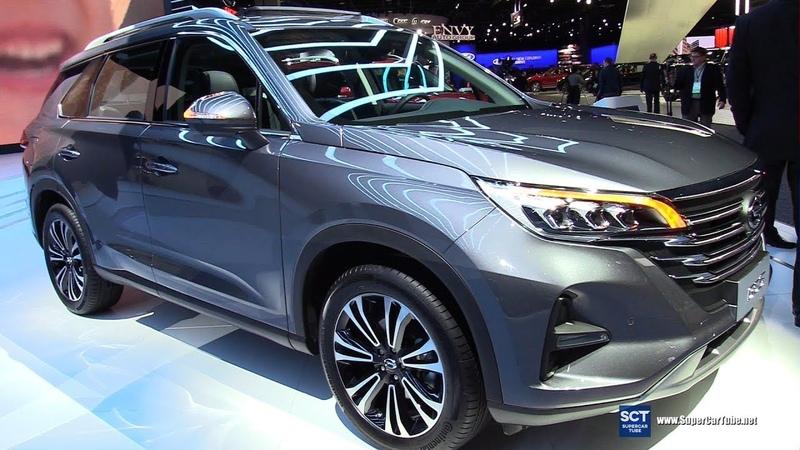 2019 GAC GS5 - Exterior and Interior Walkaround - 2019 Detroit Auto Show