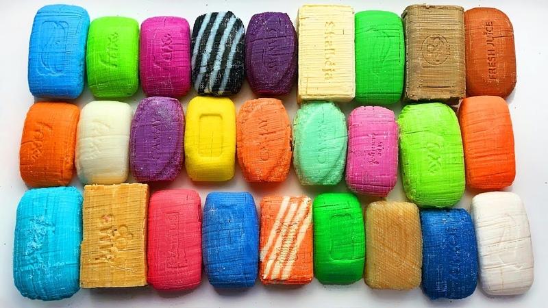Dry soap cubes cutting ASMR | Relaxing Coap Crushing \ SOAP HAUL \ * no talking *