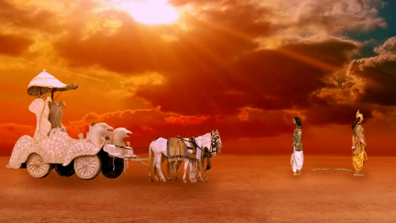 Кришна наставляет Арджуну