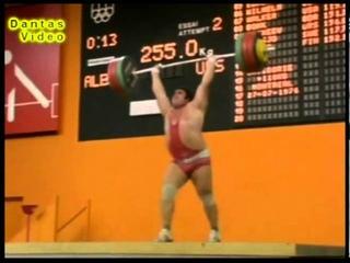 Vasiliy Alekseyev - Clean and Jerk  / Василий Алексеев толчок 255 кг