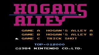 Hogan's Alley. Trick Shot Mode. NES [No Damage Gameplay (10 Rounds) / Геймплей (10 Раундов)]