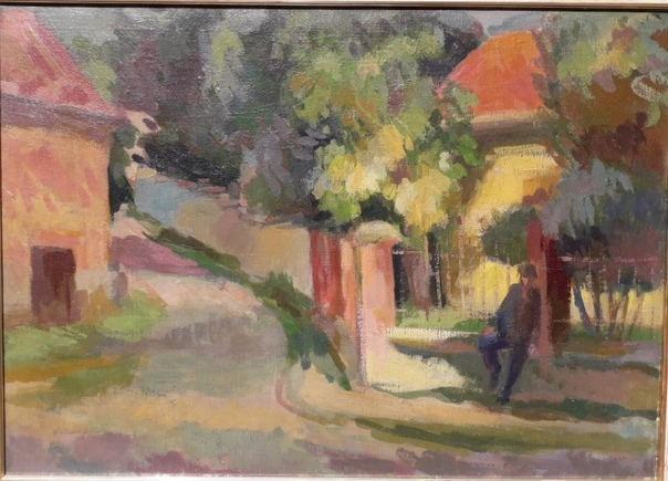 Сёньи Иштван (Szőnyi István17.1.1894 1960) венгерский живописец и график. Учился у К. Ференци в будапештской АХ (1914 22, профессор с 1938). Писал лирические пейзажи, жанровые картины («На
