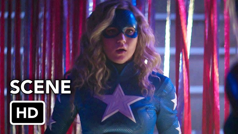 DCs Stargirl 1x07 Scene Stargirl vs. Shiv (HD) Brec Bassinger Superhero series