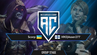 Scorp - Asser277   ACCURSED CORP - GROUP STAGE   FT3