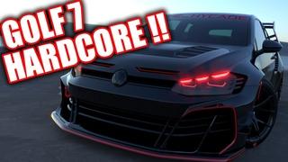 VW Golf 7 Hardcore Bodykit by hycade