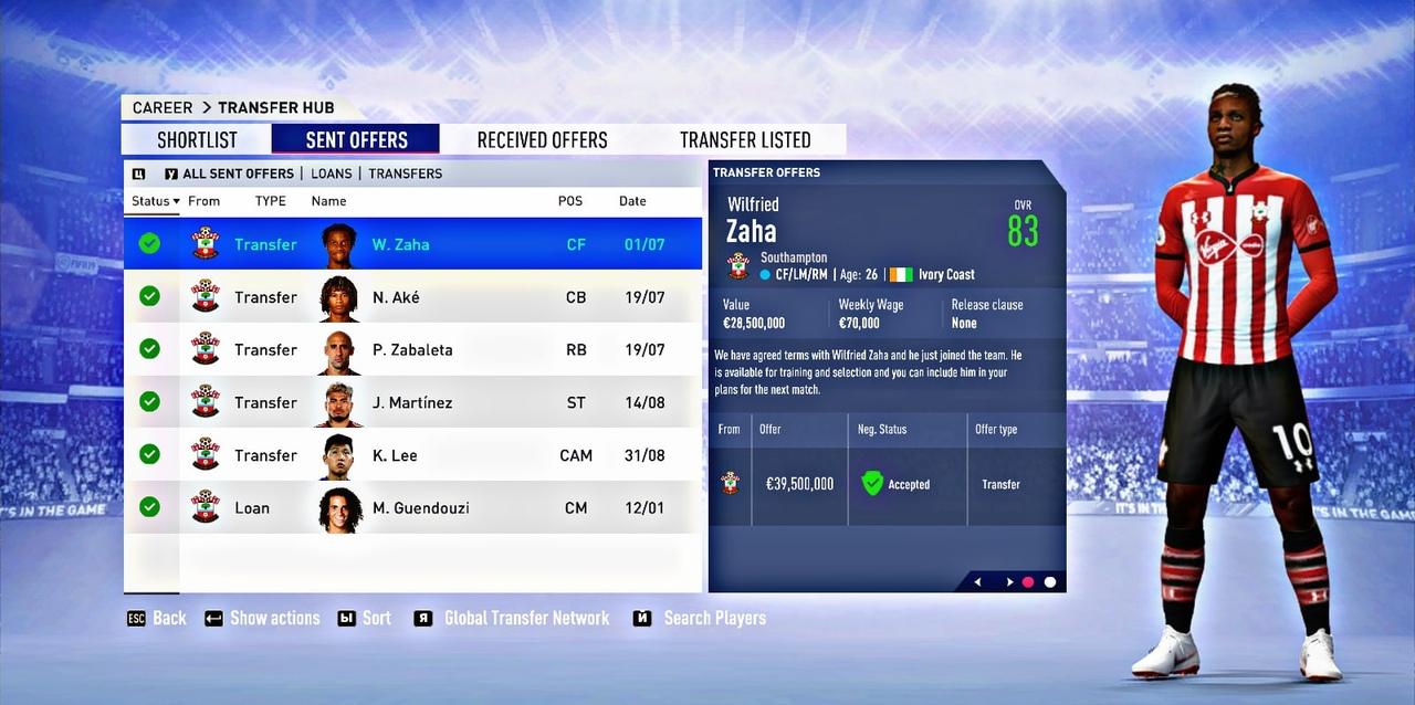 ⚽ Великий Тренер в FIFA #1