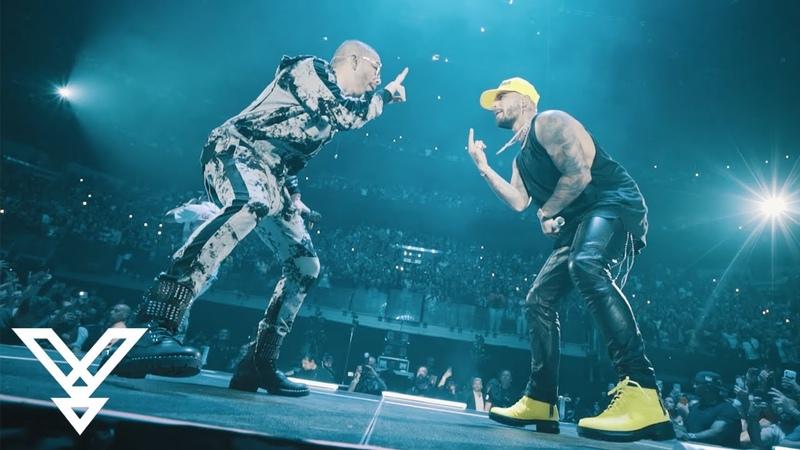 Maluma Wisin y Yandel 11 11 Tour 2019 Miami FL