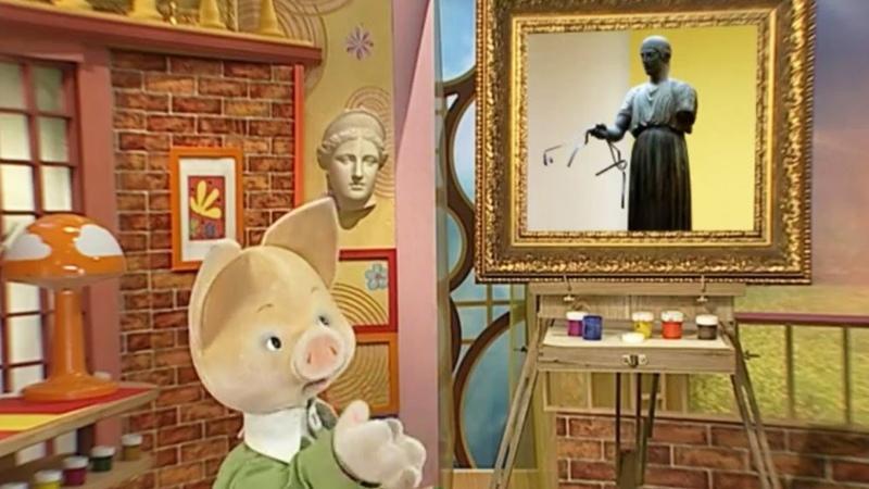 История искусств вместе с Хрюшей Выпуск 1 Обучающая программа для детей