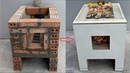 How to build a multi purpose oven with cement and brick at home