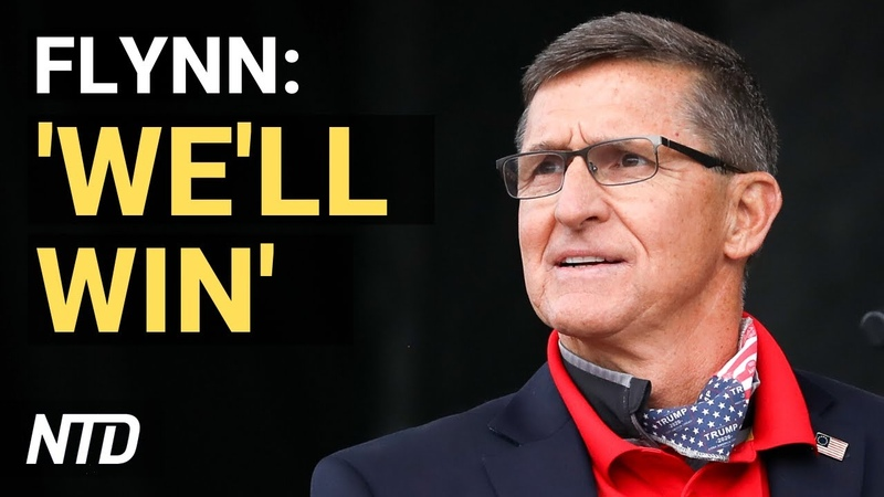 Gen Flynn speaks at pro Trump rallies 'We cannot accept what we are going through as right' NTD