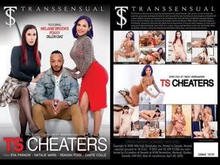 TS Cheaters - Natalie Mars, Melanie Brooks, TS Foxxy, Eva Paradis