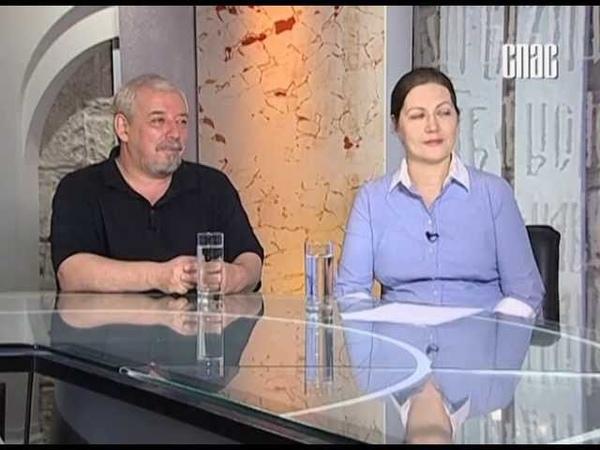 Диалог под часами В студии многодетная семья Виктора Астапенко и его жены Эмилии