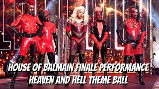 House of Balmain Finale Performance - Heaven and Hell Theme Ball   Legendary HBO Max