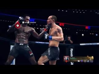 AFC 4 Middleweight @cobalt13(Israel Adesanya) vs @shkaran91(Jack Hermansson)