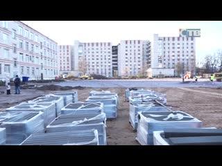 Строительство физкультурного комплекса открытого типа на Мира, 5 А