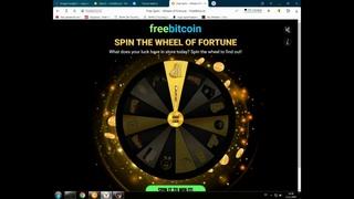 freebitcoin. как заработать без вложений 15000$ за один клик